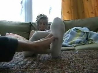Socks tickling