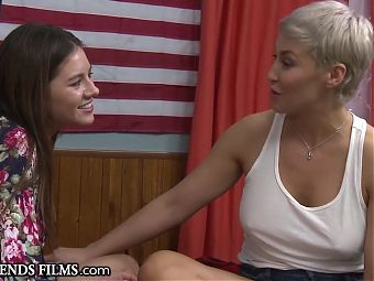 Shyla Jennings Confesses GG Curiosity & MILF is Turned On!